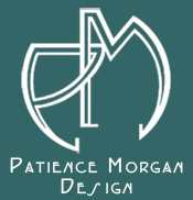 Patience Morgan Design Logo
